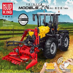 Bausteine MK Fernbedienung Herbsttraktor Fein Geschenk Kinder Spielzeug OVP