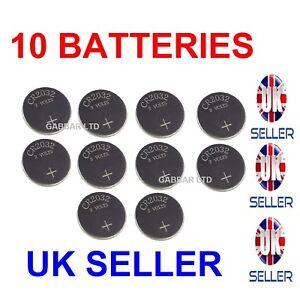 10 X CR2032 3V Lithium Button/Coin Cells batteries UK Seller 4902580131258