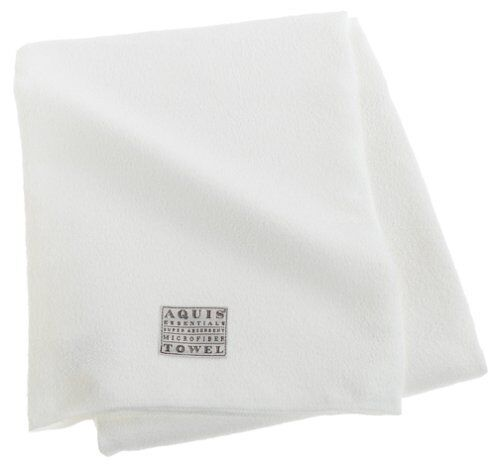 New White 29 x 55-Inches Free Ship Aquis Microfiber Body Towel Lisse Crepe