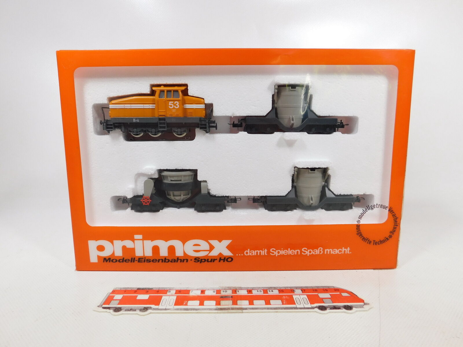 CA862-2  Primex Märklin H0 AC 2704 steel mill train, NEUW + OVP (Unopened)