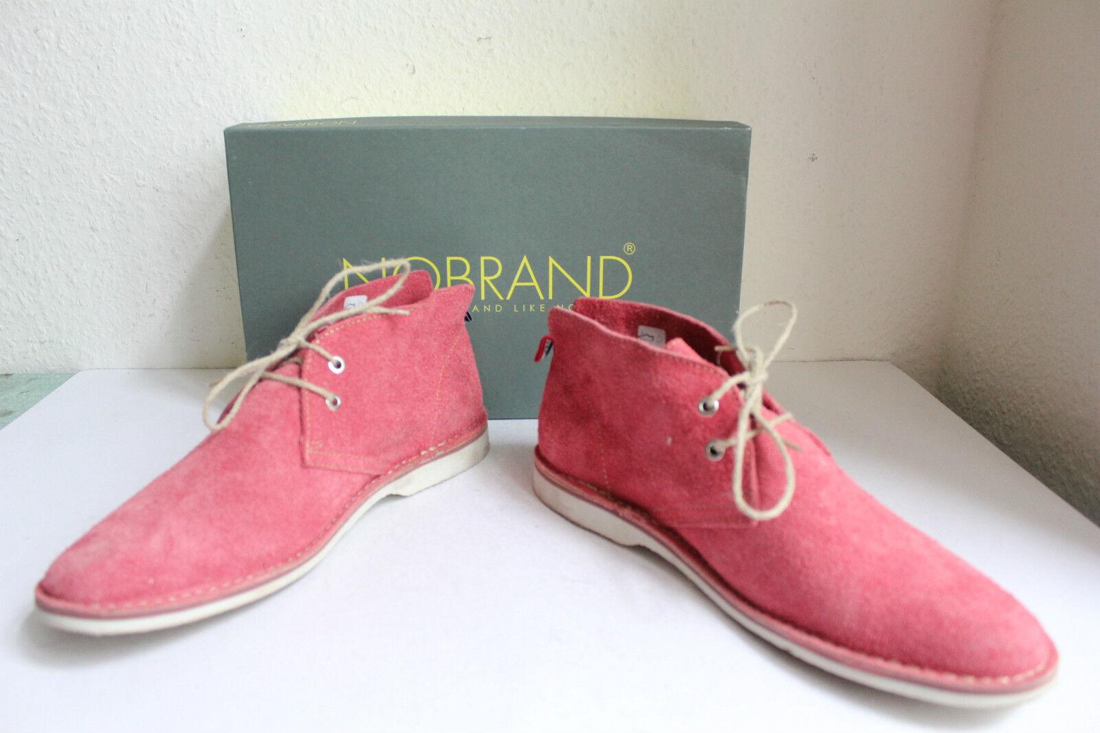 NOBRAND elegante toni trendy Stivali Camoscio Rosa toni elegante eu:44 come nuovo-con scatola b578da
