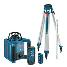 Bosch Dual-Axis Self-Leveling Rotary Laser Kit w/Tripod GRL250HVCK-B-RT Recon