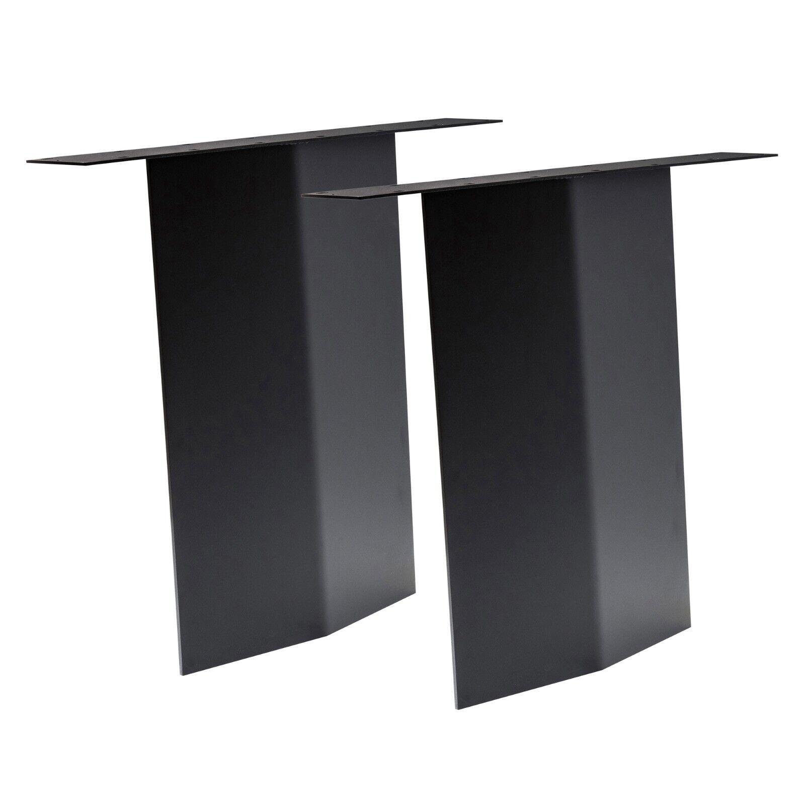 Tischgestell WUV 105 V-Wange schwarz Design V-Form Stahlwange Tischkufe Esstisch