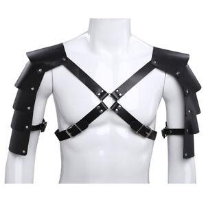 Herren Elastisch Harness Geschirr Brustgurt Schulter Gürtel Bandage