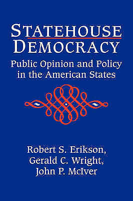 1 of 1 - Statehouse Democracy : Public Opinion and the American States-ExLibrary