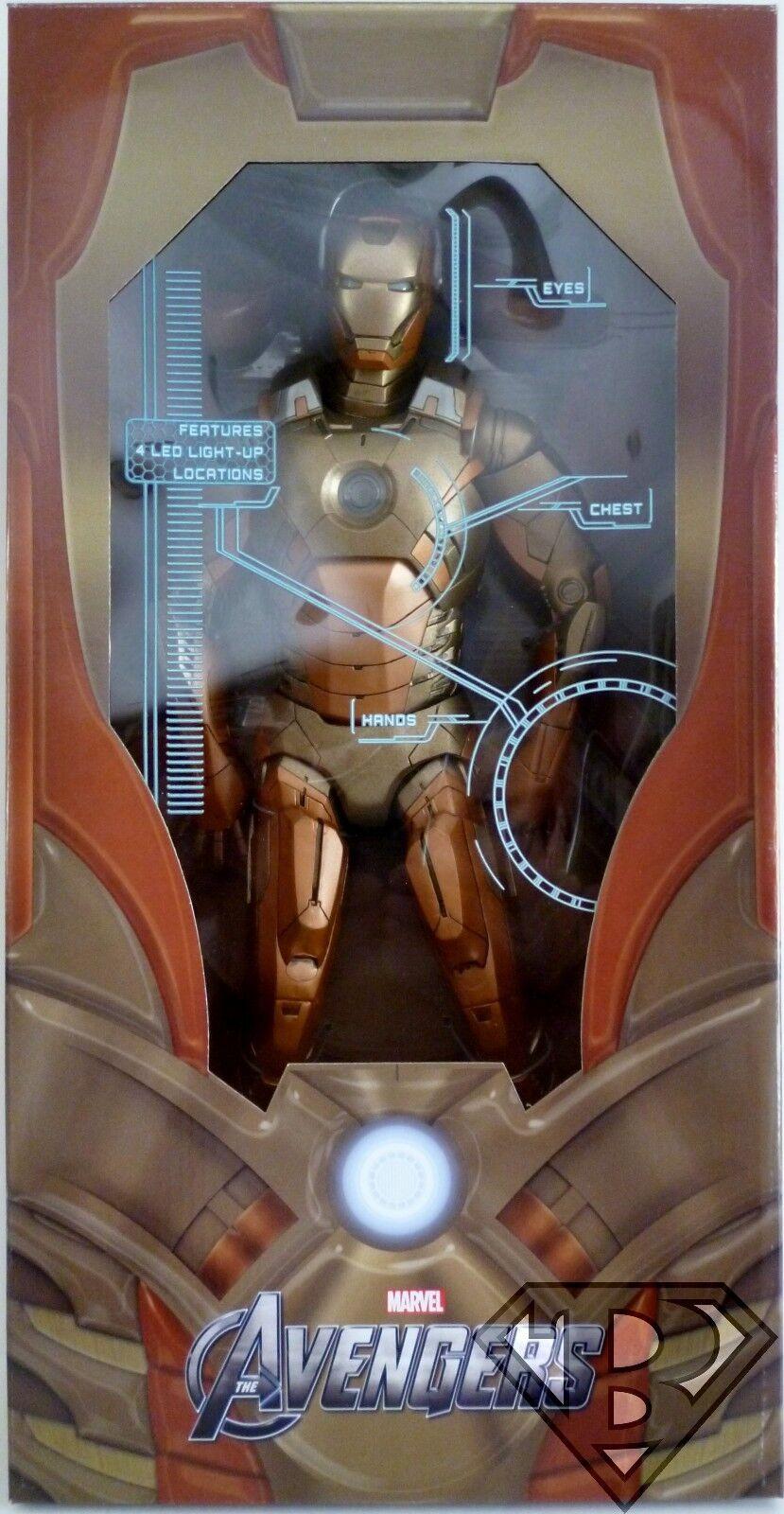 IRON MAN MIDAS VERSION gold ARMOR The Avengers 18  1 4 Scale Figure Neca 2014