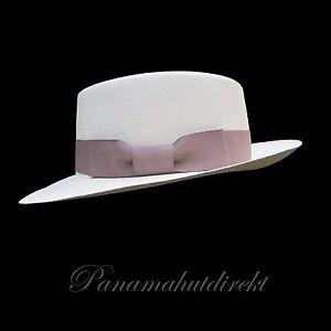Image is loading Genuine-Panama-Hat-Montecristi-Gambler-Superfino-Men-Woman- 25bfea7a22b0