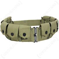 Us American Army M1923 Garand Cartridge Belt - Ww2 Repro
