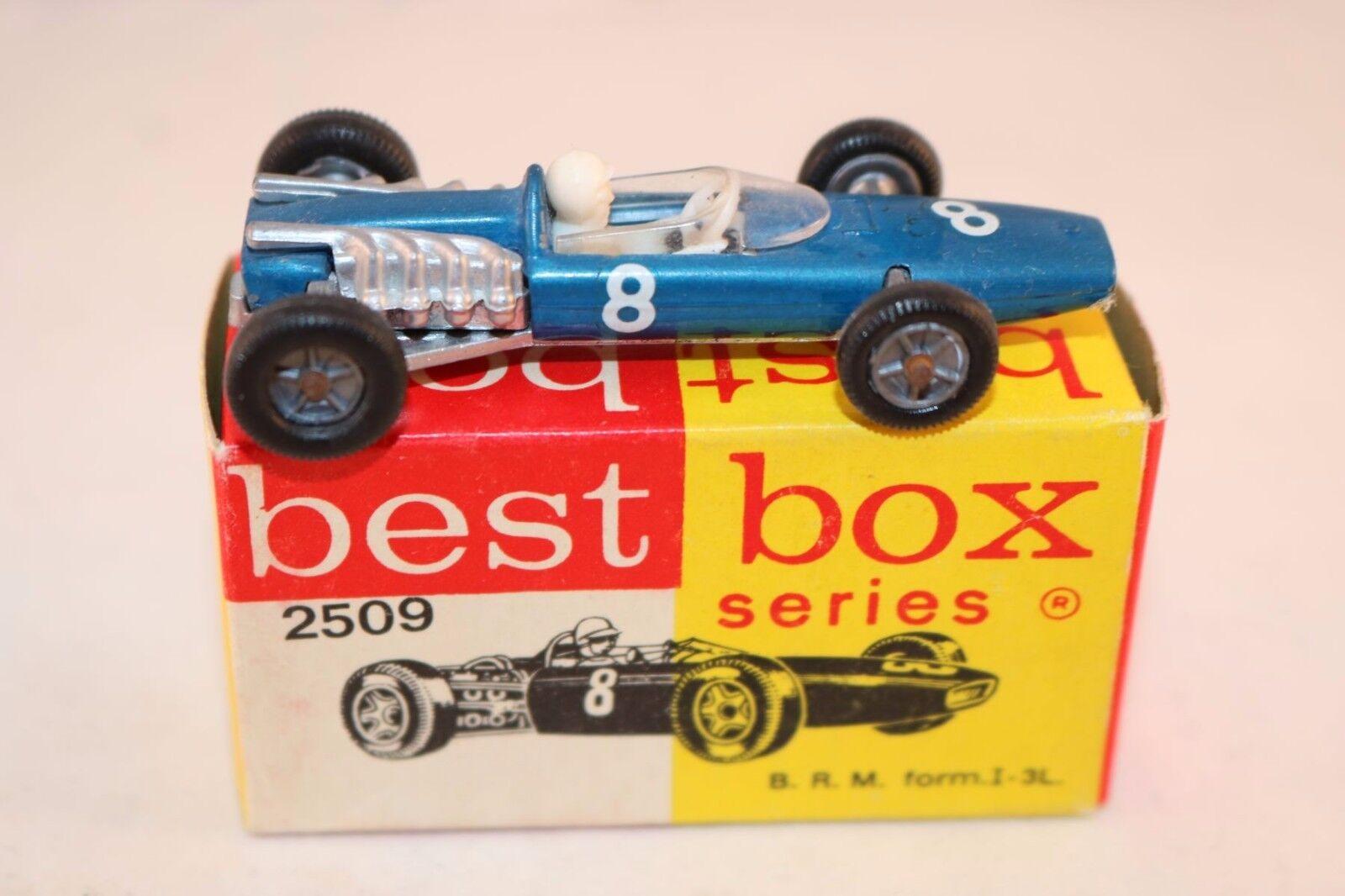 Bestbox Best Box 2509 B.R.M. Form 1-3L rare bluee bluee bluee 99.9% mint in mint box superb 51d09e