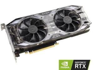 EVGA GeForce RTX 2070 XC GAMING, 08G-P4-2172-KR, 8GB GDDR6, Dual HDB Fans & RGB