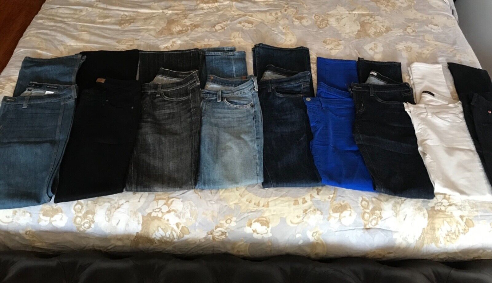 Lot of Jeans  size 27-4 J Brand, 1Hudson, 1Seven,1 James, 1 Citizens, 1 Earl