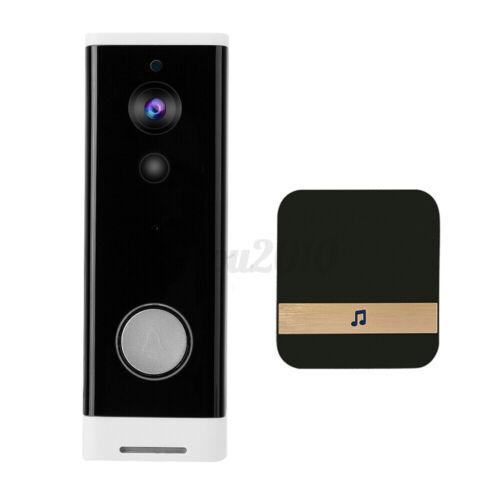 Wireless WiFi Video Doorbell Smart Phone Door Ring Security Camera Bell