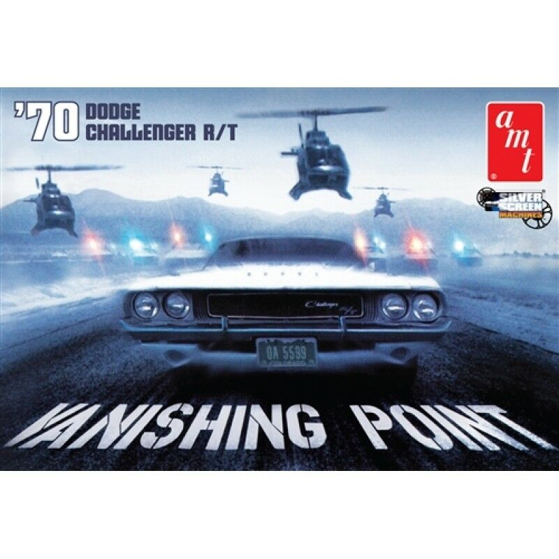 Vanishing Point 1 25 1970 Dodge CHallenger R T Snap Kit - OFFICIAL