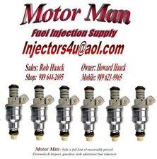 Motor Man - Reman Motorcraft Fuel Injector Set (6) F3DE-B4D Ford Mercury 3.8L V6