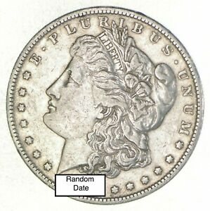 Bulk-Lot-VF-XF-1-1878-1904-P-O-S-Morgan-Silver-Dollar-90-Eagle-Collection