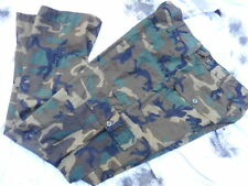 """US ARMY ERDL BROWN vietnam CAMO utility COMBAT TROUSERS RIPSTOP new M 34"""""""