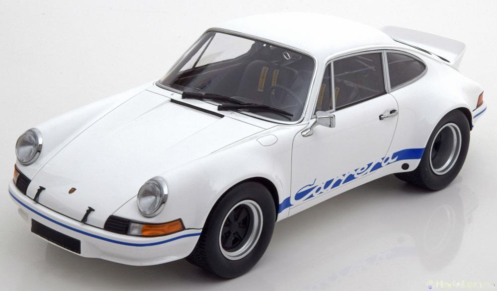 PORSCHE 911 CARRERA RSR 2.7 1972 blanc MINICHAMPS 107065020 1 18 WEISS blanc