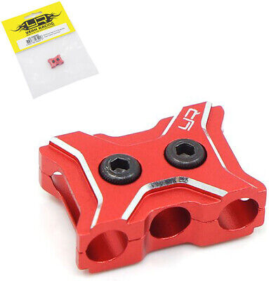 Yeah Racing Aluminum Case 12-14 Gauge Wire Guard Clamp Type A Red #YA-0485RD