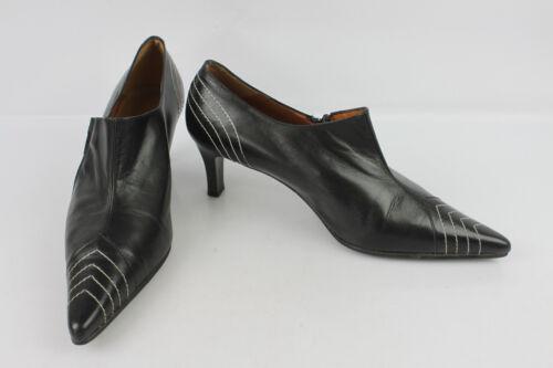 Guter Vasquez Leder 38 Maria Pumps Stiefel Zustand T Schwarzes Seht qIEP8wU