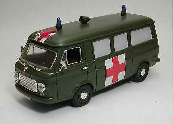 Fiat 238 Ambulanza E.I. Esercito Italiano 1:43 Model RIO414107 RIO