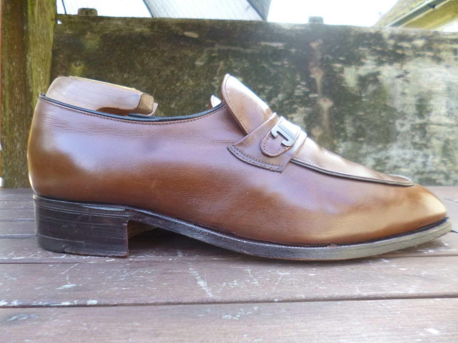 CHURCH VINTAGE LOAFERS – – – braun   TAN - UK 7.5 – INDUS - EXCELLENT CONDITION 356f9f