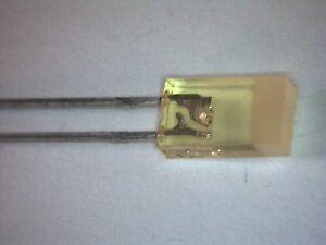 20x-LED-2-5x5mm-rechteckig-flach-GELB-teildiffus-Siemens-LYB480