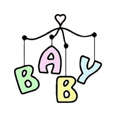 INKWELL Clear Stamp BABY MOBILE Baby Boy or Girl TBABY012