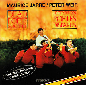 Dead Poets Society 1989 2 Original Movie Soundtrack Cd Ebay