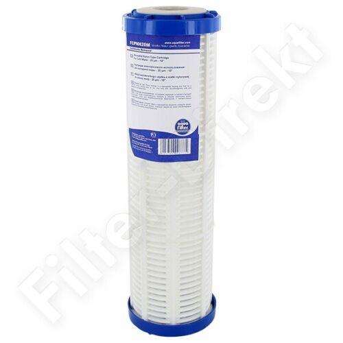 10 Nylon Schmutz Filterkartusche 20µm für Wasser, Öl, Pöl usw (17,28€/1Stk)