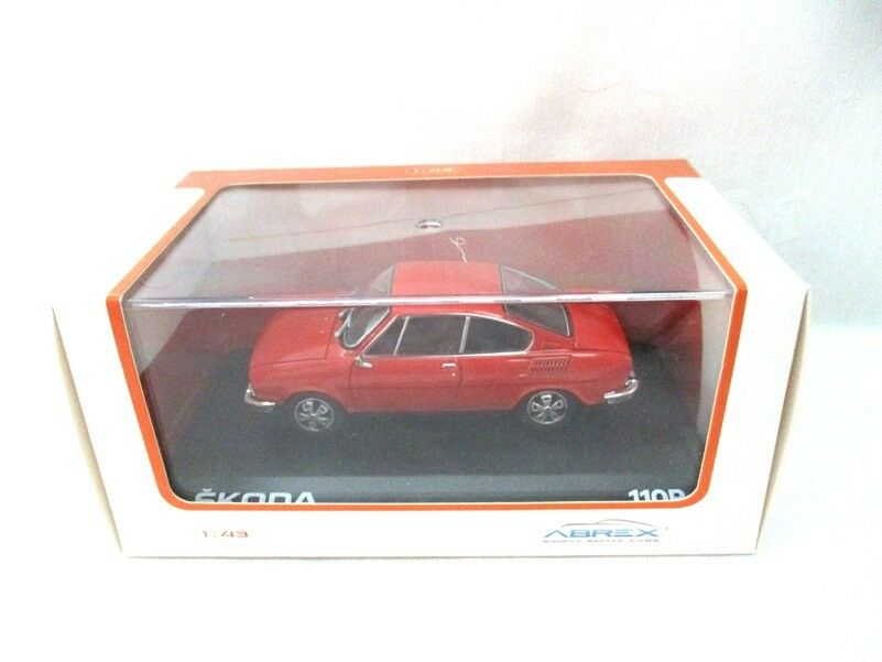 Skoda 110R Coupe 1980 Racing Red   Abrex