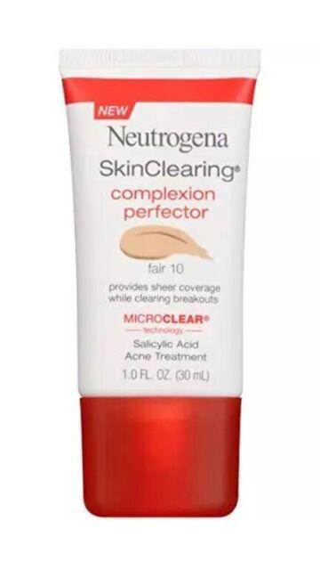 Neutrogena Skinclearing Complexion Perfector Medium 40 MicroClear 1oz