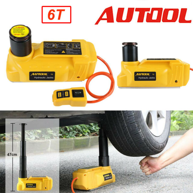 6 Ton Electric Hydraulic Jack Portable 12V Car Truck SUV ...