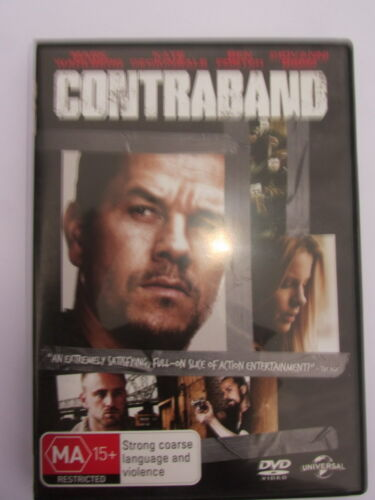 1 of 1 - CONTRABAND DVD - GC - Mark Wahlberg, Kate Beckinsale