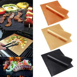 BBQ-Grill-Mat-Bake-Non-Stick-Grilling-Mat-Barbecue-Pad-Teflon-Fiber-Home-Outdoor