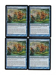 MERROW COMMERCE x4 4 4x Lorwyn Magic the Gathering Playset Lot