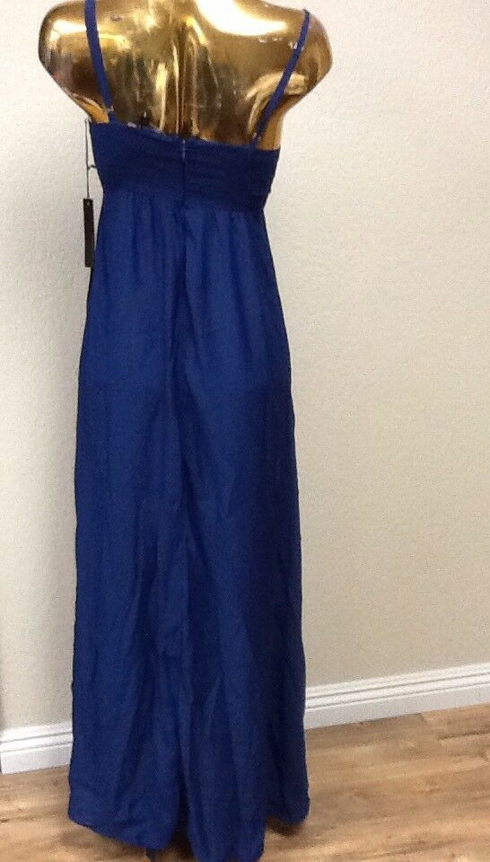 Felicity & Coco Women's Colby Colby Colby Woven Maxi Dress In Navy Size XS 318722