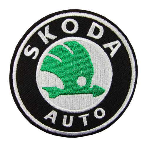 SKODA logo brodé Iron On Patch #PKD011