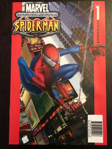 G CHECKERS PRINT In -NM ULTIMATE SPIDER-MAN #1 Vol1 1st Ultra RARE 2000