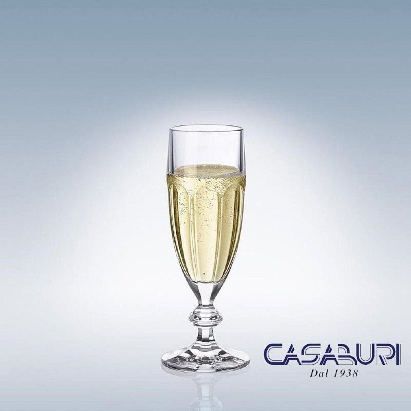 Villeroy & Boch BERNADOTTE Set 6 Flute Champagne Cristal 180 mm,0.17 l