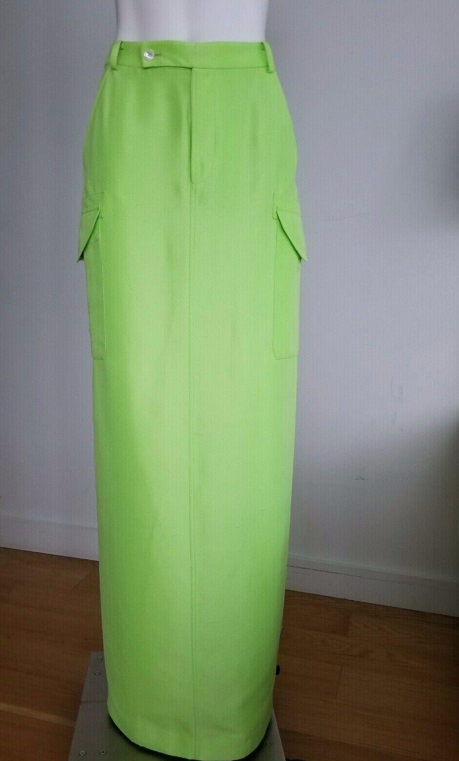 Ralph Lauren Purple Label Women's Long Maxi Skirt Size 8 Medium
