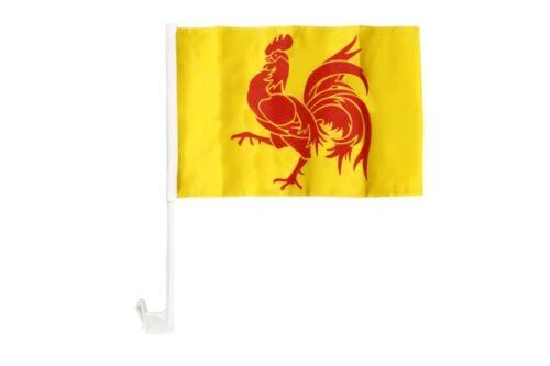 Belgien Wallonien Autofahne Autoflagge Fahnen Auto Flaggen 30x40cm