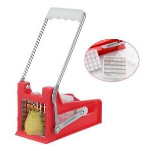 Patata-INOX-ALLEGRO-Patatine-Fritte-Chip-Slicer-Chopper-Cutter-Lame-Maker