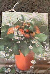 Blumen Rose Geschenktüte Geschenk Tasche Tütchen Verpackung Papiertüte gross