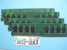 2GB 4x 512MB DDR2 667 PC2-5300 Memory Acer Dell Gateway HP Lenovo Non ECC DIMM