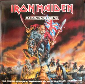 Iron-Maiden-Maiden-England-039-88-on-Picture-Disc-Vinyl-2LP-EMI-2013-NEW-amp-SEALED