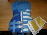 Speedo Infant Neoprene Personal Floatation Device Up To 30 Lbs With Tag