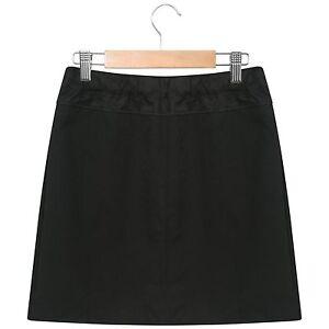 Off The High Street Girls Pleated School Skirt School Uniform Black Grey /& Navy