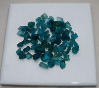 Blue Apatite Crystal Rough Gem Mix Parcel Over 100 Carats