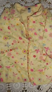 568363ccf euc Baby Gap yellow floral trench coat baby girl 18 m 24 m free ship ...