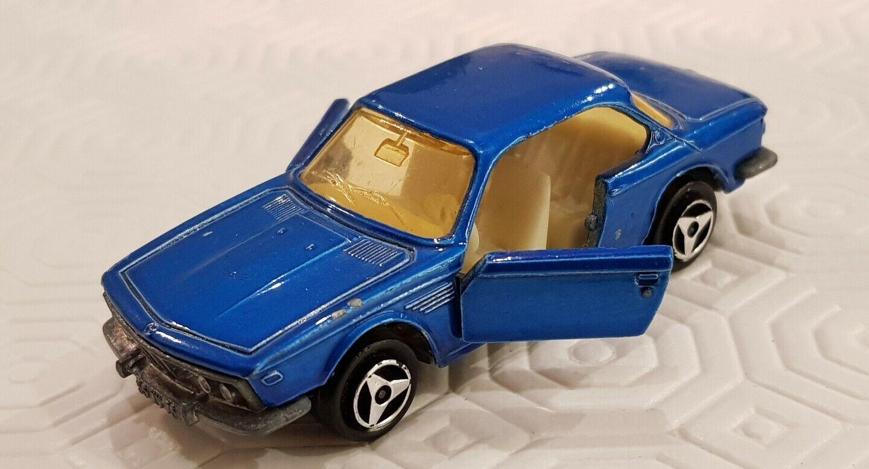 MAJORETTE fatto IN FRANCE 1976 BMW 3000 3000 3000 CSI N°235 1 60 RARE verde verde  cf41bf